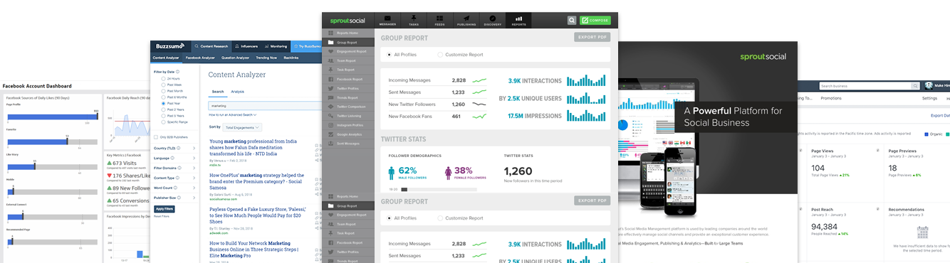 Social-Analytics-Dashboards