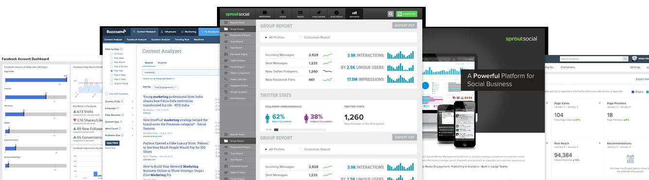 Social-Analytics-Dashboards